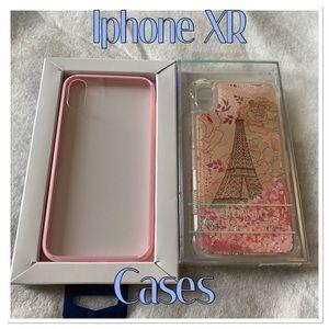 2 iphone XR Cases BUNDLE